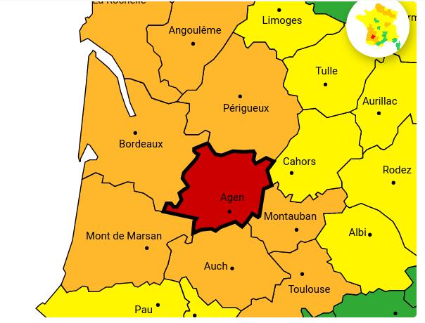 Crue majeure Garonne