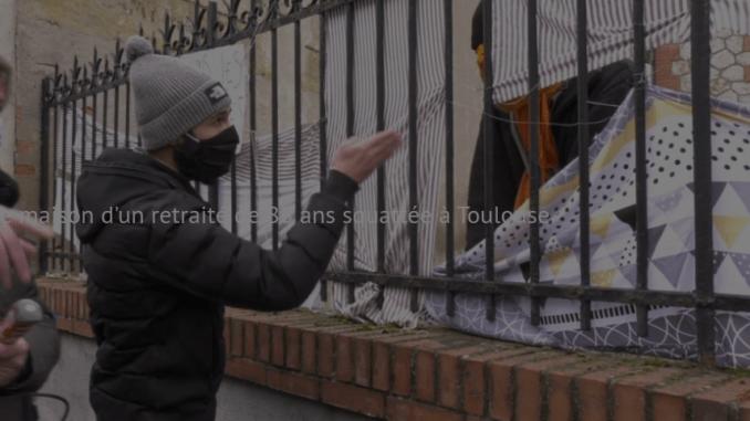 Tensions autour de la maison d'un octogénaire squattée à Toulouse