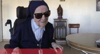 Soeur André, 115 ans doyenne des Français
