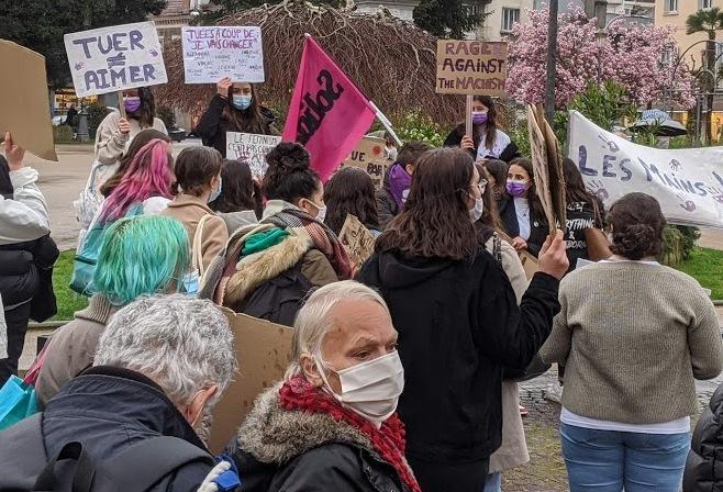 Droits des femmes, manifestation Toulouse