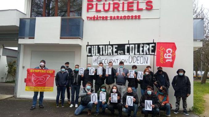 Occupation théâtre Toulouse