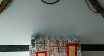 Les contrebandiers tentent de faire passer 70 cartouches de cigarettes