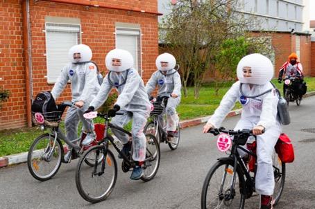 Vélotour à Toulouse en septembre