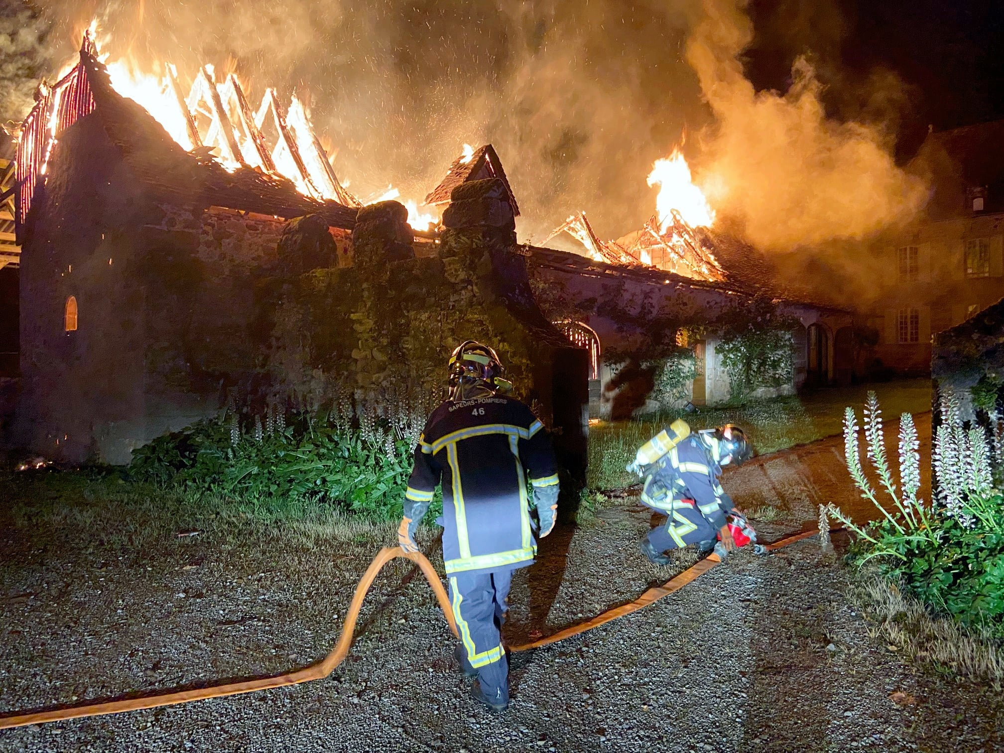 Dans le Lot, le château de La Rauze partiellement détruit par un incendie