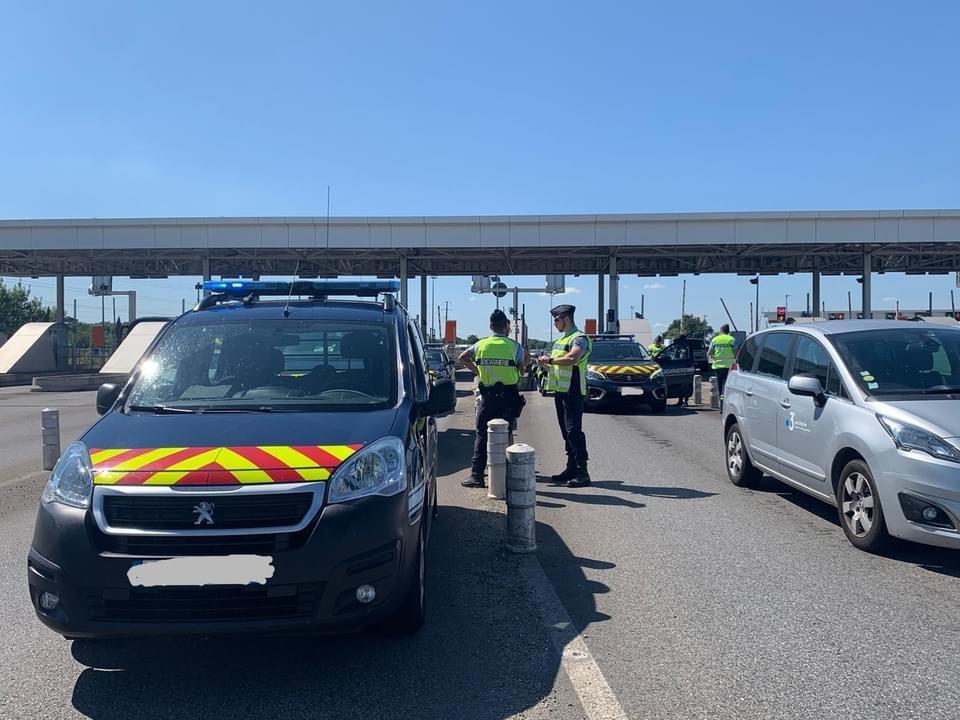 Départs en vacances, la gendarmerie intensifie les contrôles en Haute Garonne