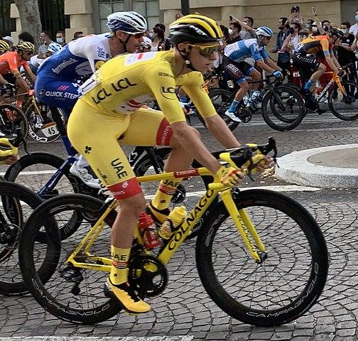 Pogacar gagne à Saint Lary