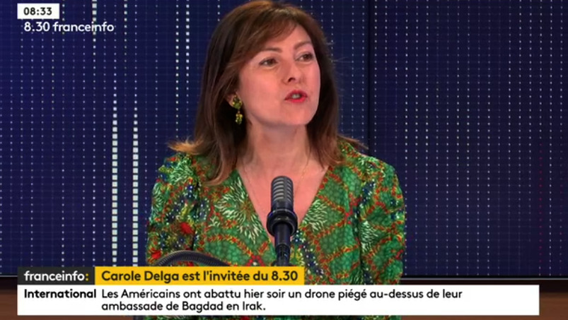Carole DElga soutient Anne Hidalgo